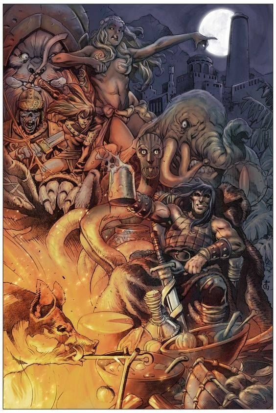 Conan Has The Best Stories Conan The Barbarian Conan Barbarian