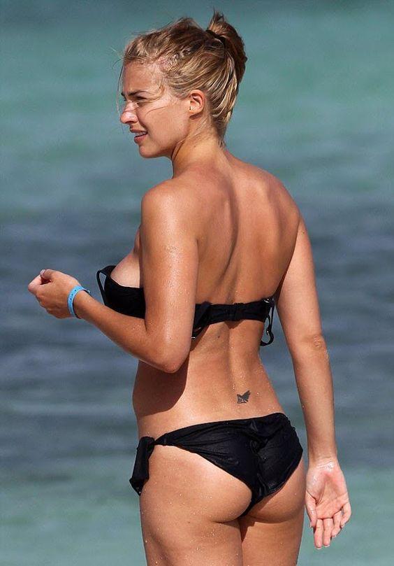 Gemma Atkinson - Bikini on the Beach in Aruba - October 2012 | ~Picx~