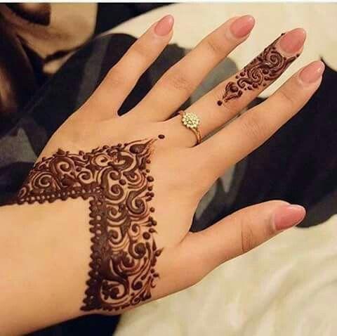 Wedding Day Henna Tattoo #MehendiMandalaArt @MehendiMandala