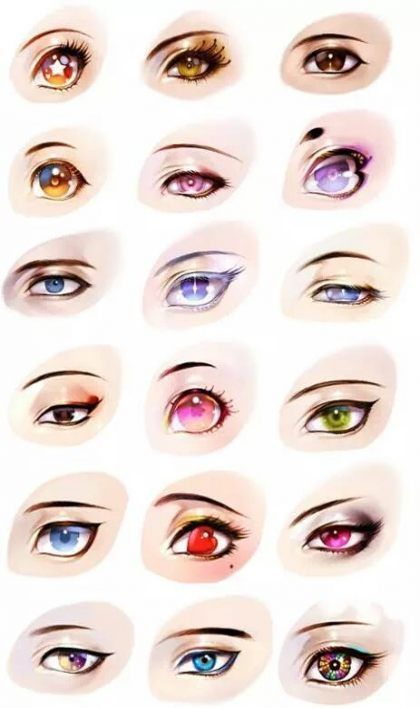 Eye Reference Anime 41 Trendy Ideas Eye Drawing Tutorial Face Eye Illustration Anime Eyes
