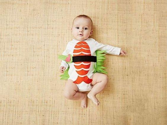 DIY-Anleitung: Sushi-Kostüm nähen via DaWanda.com