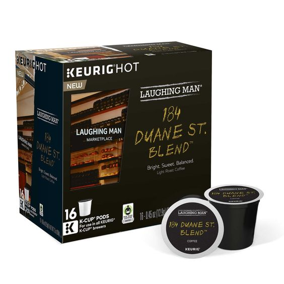 Laughing Man 184 Duane Street Blend Coffee K-Cups * Click image for more…