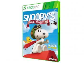Snoopys Grand Adventure p/ Xbox 360 - TPMSGAX360