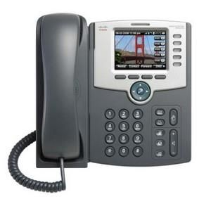 The Cisco SPA 525G2 5-Line IP Phone