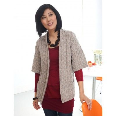 Long Cardigan with Pockets free knitting pattern for sweater Cardigan Knitt...