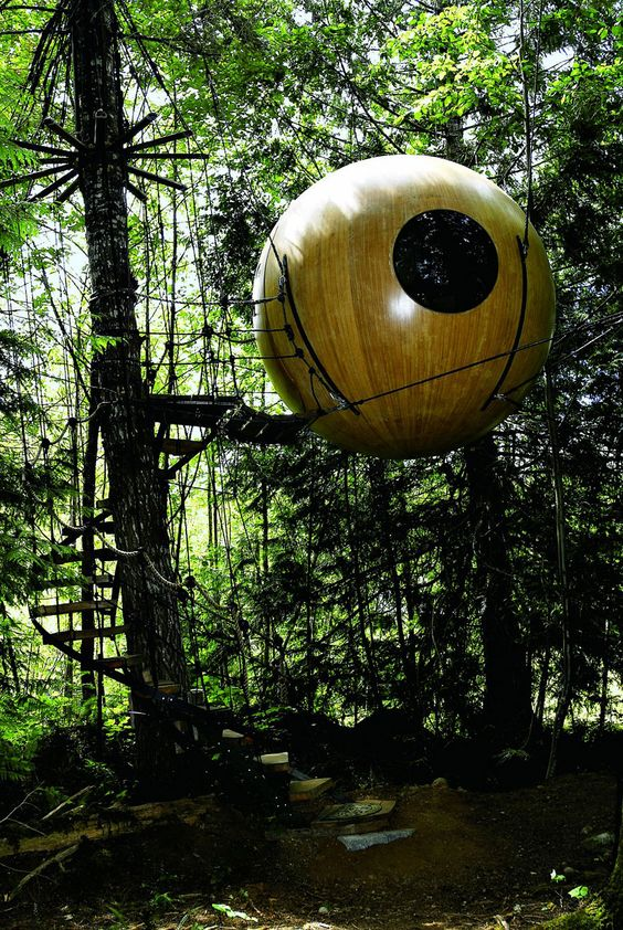 Tree houses from around the World