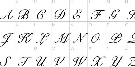 Calligraphy Tattoo Fonts Typography And Aesthetics On