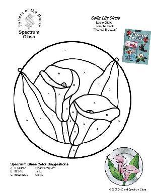 Calla Lily Crochet Pattern Free | Crochet Patterns CALLA LILY FLOWER Color Graph Pattern | eBay