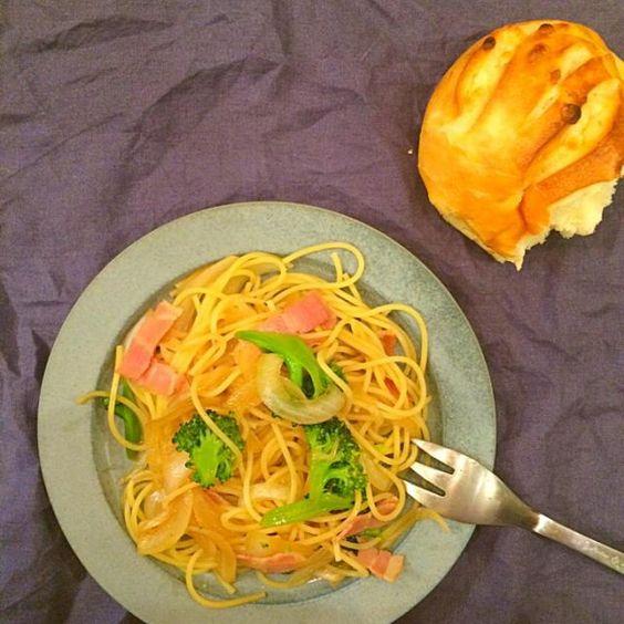 レシピとお料理がひらめくSnapDish - 45件のもぐもぐ - 春野菜とベーコンのパスタ by yumi