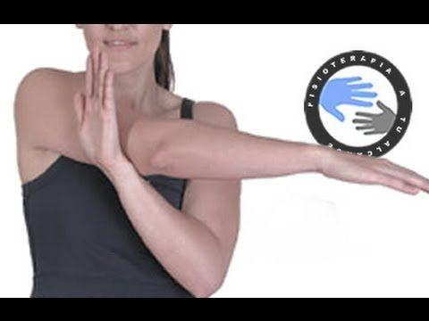 Tendinitis, estiramientos para aliviar el dolor de hombro / Fisioterapia a tu alcance