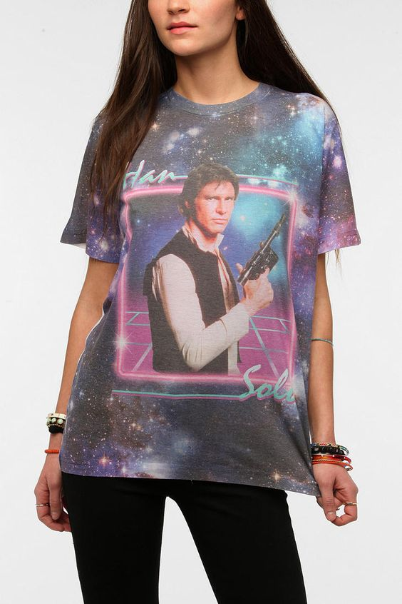 Han Solo Sublimation Tee #urbanoutfitters