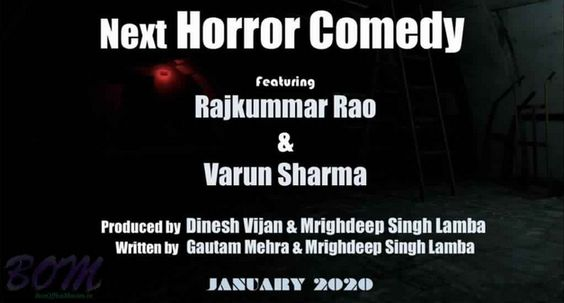 Rajkummar Rao and Varun Sharma to come together in a horror comedy
