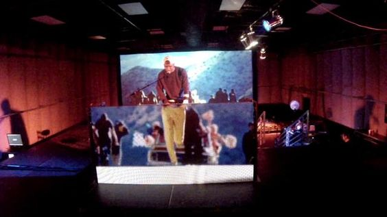 Frank Ocean performs Forrest Gump in rehearsal for the Grammys.