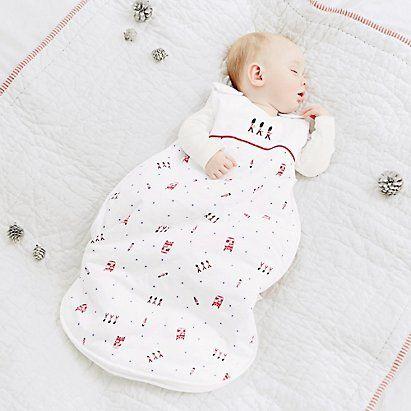 Baby Boys' London Sleeping Bag 2.5 Tog | The White Company
