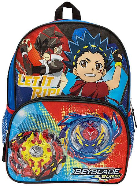 BeyBlade Light Up Backpack | Backpacks, Unique designs