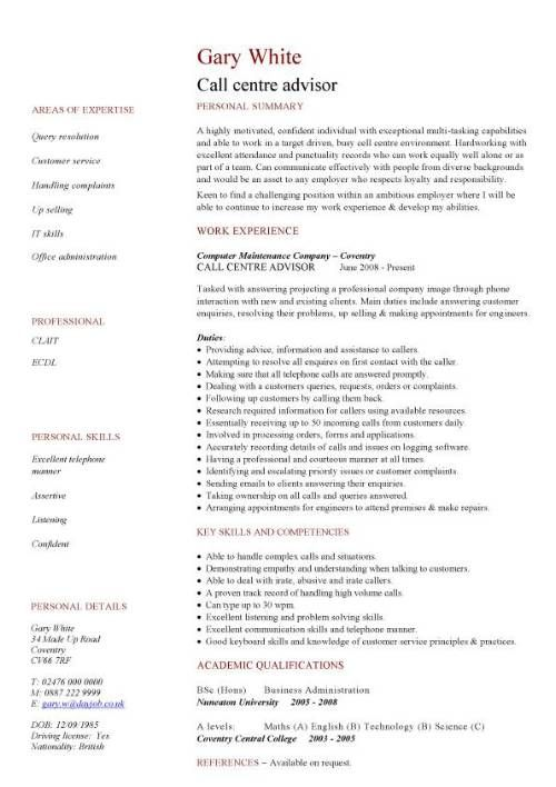 Cv Template Quality Manager Resume Examples Resume Resume References