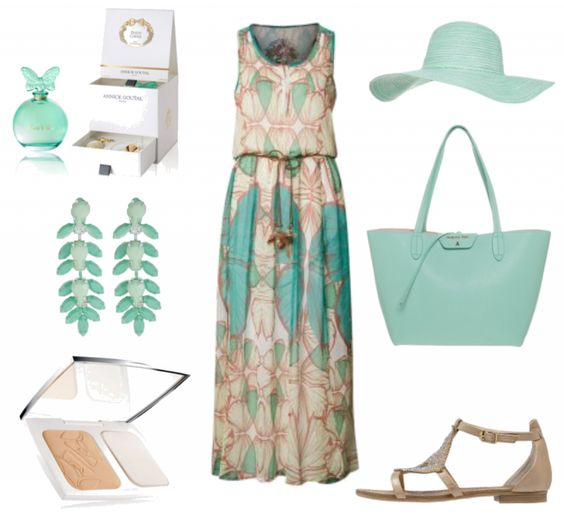 #Sommeroutfit Sommerfrische ♥ #outfit #Damenoutfit #outfitdestages #dresslove