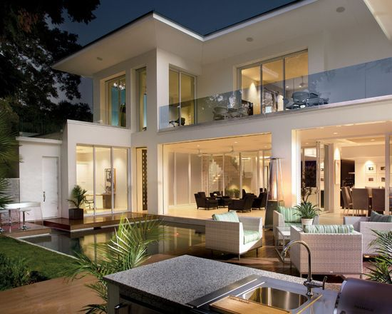 17 Stunning Glass Balcony House Design Ideas Contemporary House