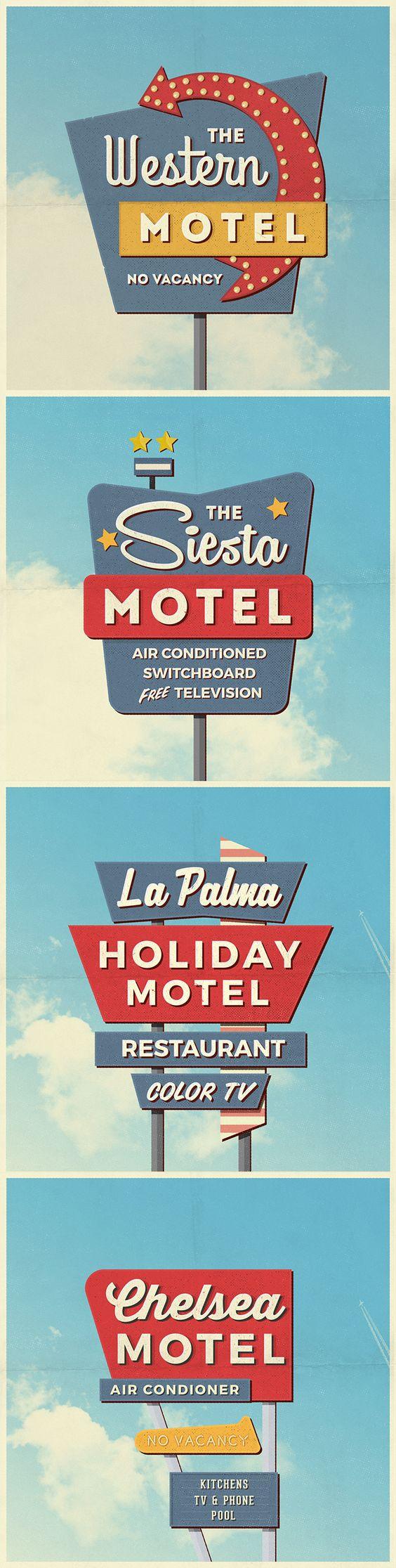 vintage motel sign mockups pin vintage and signs 4 vintage motel sign mockups 226 mb by antonio padilla on pixelbuddha