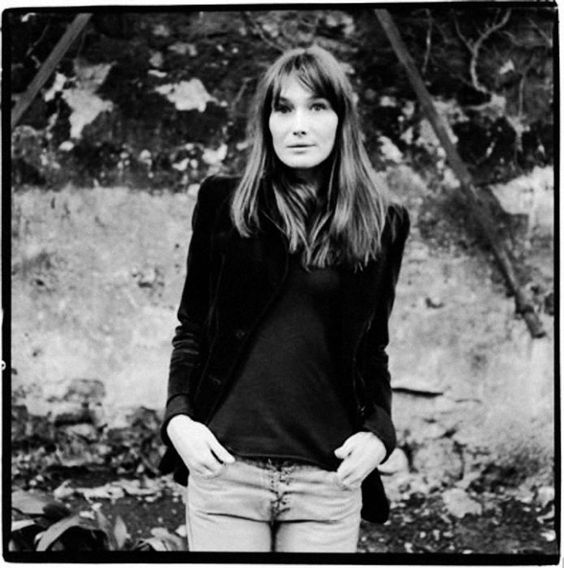 Carla Bruni by Renaud Monfourny