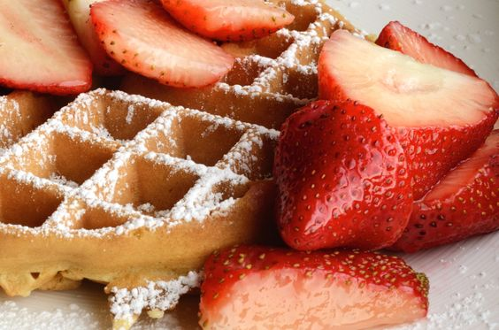 #Belgian #waffle is a type of waffle popular in North #America identified by its larger size, lighter #batter and higher grid pattern which forms deep pockets and has larger squares than the standard American waffle. No single type of waffle is identified as a 'Belgian Waffle' within Belgium itself, where there are a number of different varieties, including the Brussels waffle, the Liège waffle and the #stroopwafel.