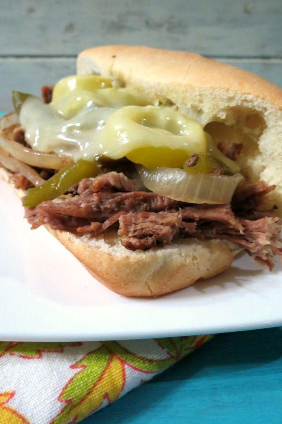 recipe: flank steak philly sandwich [2]