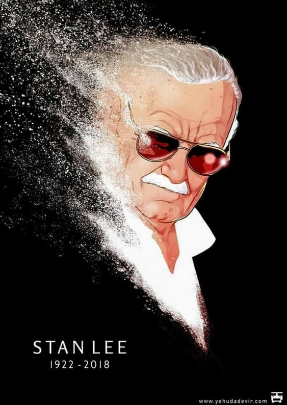 Rest in Peace Stan Lee. You will never be forgotten. 😢