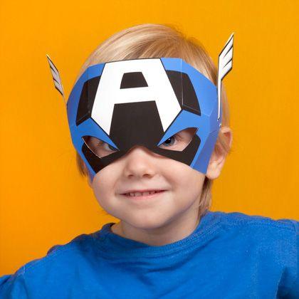 Captain America's Mask