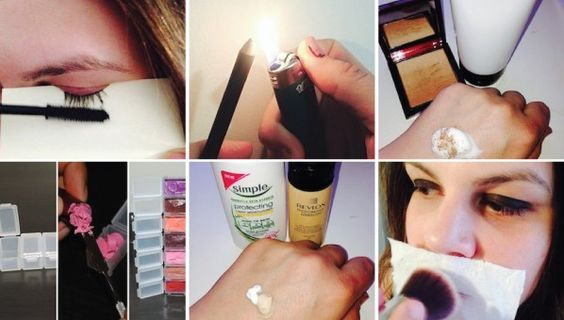 17 Makeup Hacks to Learn While You're Off This Week