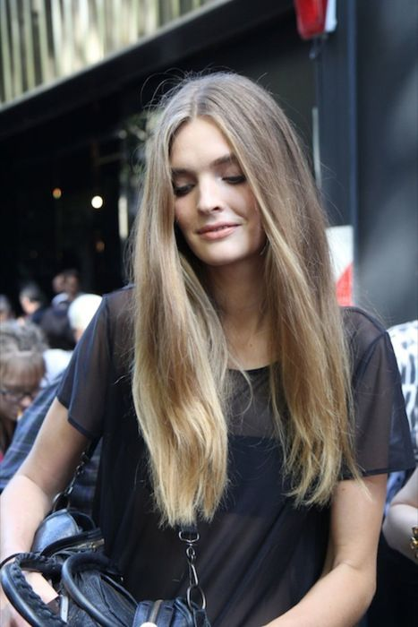 Cheveux Longs Blond