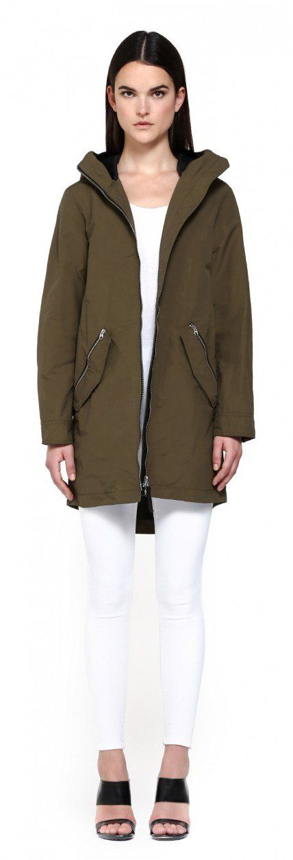 SONYA ARMY PARKA WITH HOOD | FOR WOMEN | Mackage