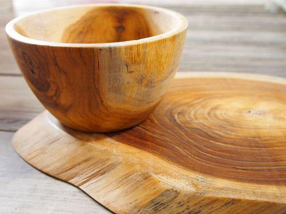 Cutting Boards – Rustic Teak wood cutting board, serving board – a unique product by LazyPieces on DaWanda