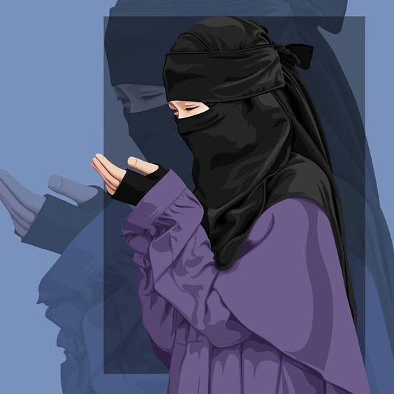 23 Gambar Kartun Suami Istri Bercadar Kumpulan Gambar Kartun Muslimah Couple Bercadar Cara Baruq Download 75 Gambar Kartun Kartun Hijab Ilustrasi Karakter