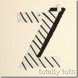 Llibre de les lletres: z de zebra