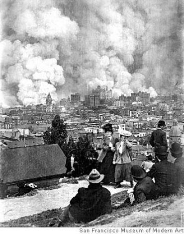SF Earthquake and Fire.