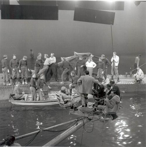 20 000 leagues under the sea, walt disney productions. on set, 1954