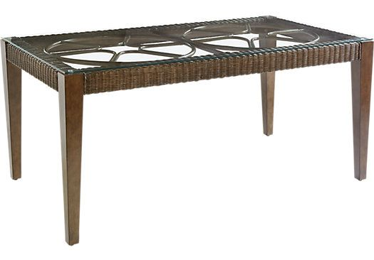 picture of Seagrove Mahogany Rectangle Dining Table  from Dining Tables Furniture