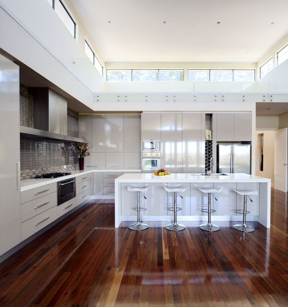 Urban Kitchens Australia In Caesarstone 2141 Snow