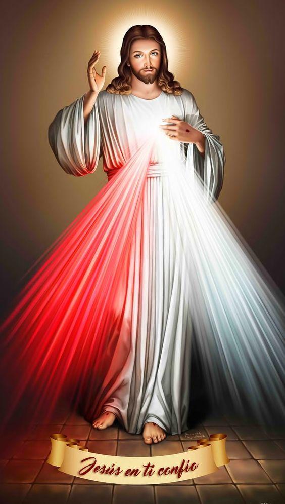 Pin em Jesus Misericordioso