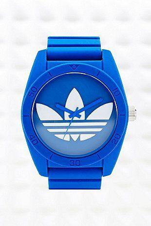 Adidas Originals - Grande montre Santiago bleue