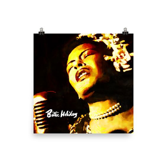 Billie Holiday Lady In Satin Poster Print