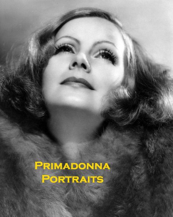 GRETA GARBO 8x10 B&W Lab Photo Beautiful Portrait Amazing Rare Angelic Beauty | eBay