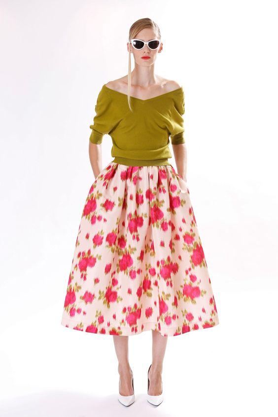 Michael Kors Collection Pre-Fall 2013 Fashion Show - Romina Lanaro