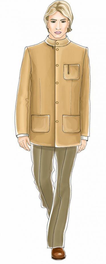 I AM jacket pattern modify