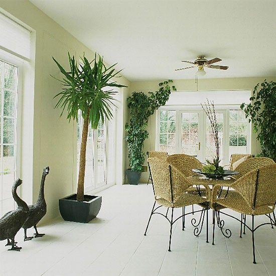 Minimalist conservatory | Dining room furniture | Decorating ideas | Image | Housetohome.co.uk