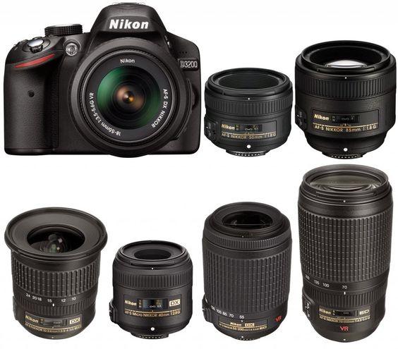 Nikon D3200 News: Nikon D3200 Compatible Lenses Bible