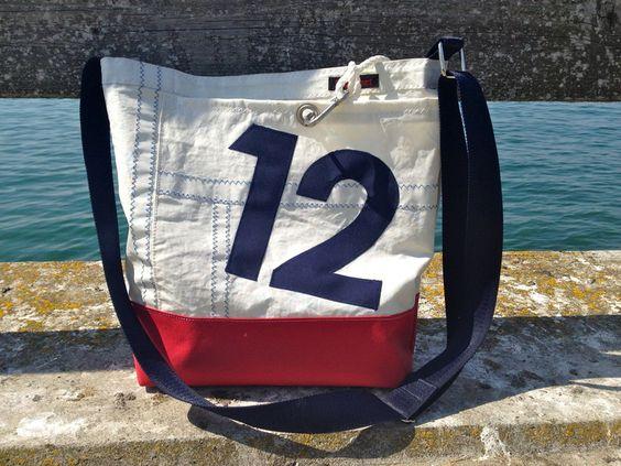 Segeltasche 12 -* reserviert für renate-trallala* von Rough Element auf DaWanda.com