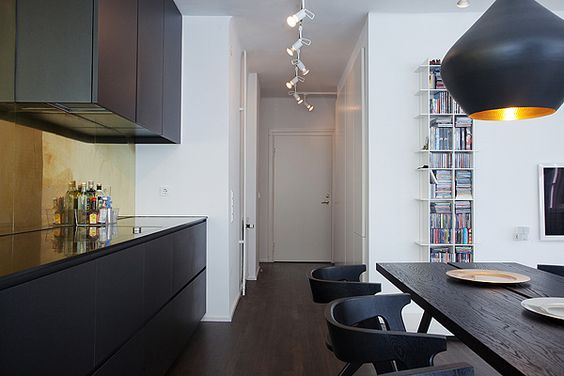 Apartment in Stocholm by architect and designer Daniel Nyström