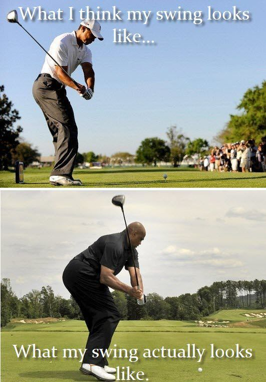 What I think my swing looks like. Funny Golf Joke! #Golf #LorisGolfShoppe
