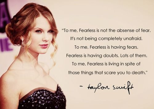 Ohhh Taylor Swift your so astute!